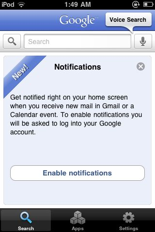 Push Notifications Gmail