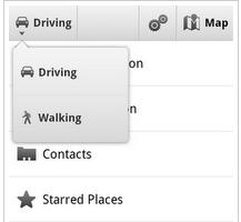 Google Maps Walking Navigation