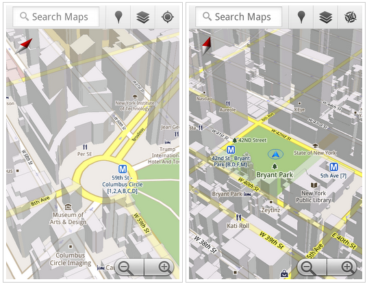 Google Maps 5 With 3D for Android Is Here - TheAppleGoogle on google marketplace android, google map san francisco bay, social networking apps android, total commander android, ical android, onedrive android, google notes android, google calendar app for windows 8, baidu maps android, google groups android, windows media player android, google analytics android, google talk android, google map example, google bookmarks android, downloadable maps for android, google chrome browser android, chromebook android, google search bar android, google voice android,