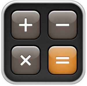 iphone calculator icon