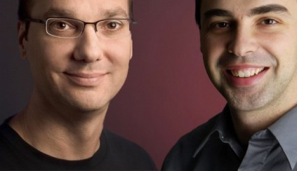 Larry Page and Andy Rubin