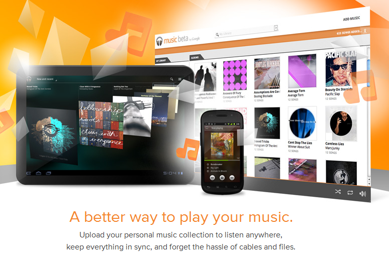google music press