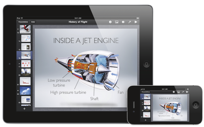 iwork itouch