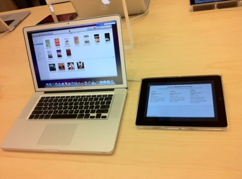 MacBook iPad