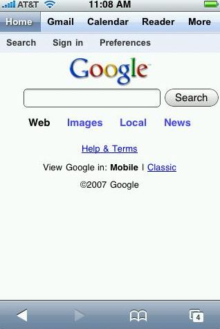 google iphone