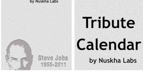 steve jobs calendar app