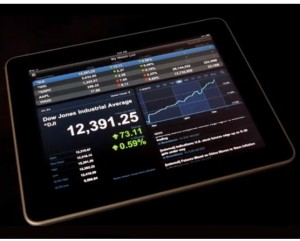 Finance App iPad