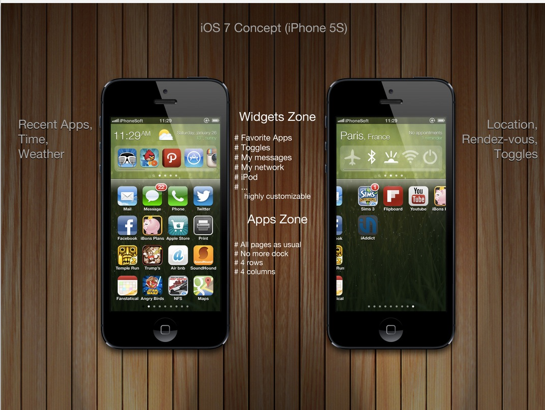 iOS 7 Concept