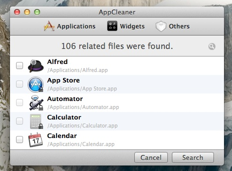 does deleting an application uninstall in mac