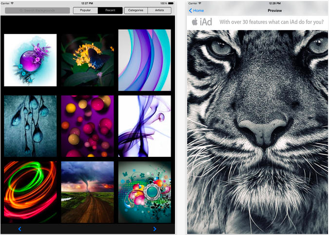 wallpaper apps for ipad 3