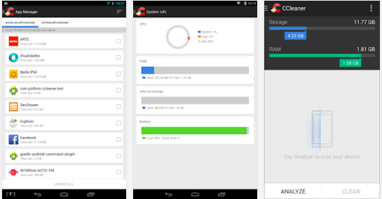 android ccleaner review