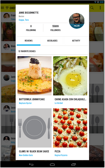 ChefsFeed Screenshot 3
