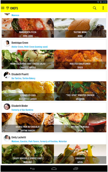 ChefsFeed Screenshot 4