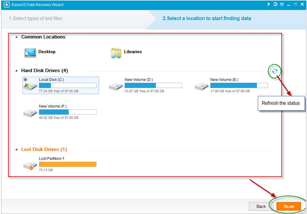 EaseUS Data Recovery Wizard Screenshot 2