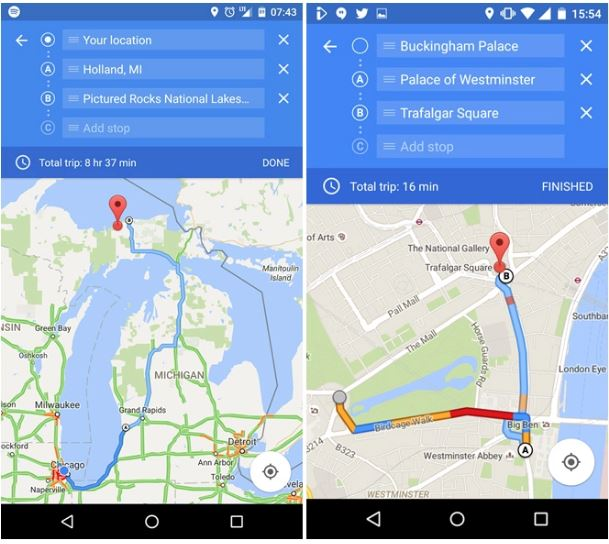 Maps Multiple Stops >> Google Maps Roll Out Multiple Destinations Feature In Single