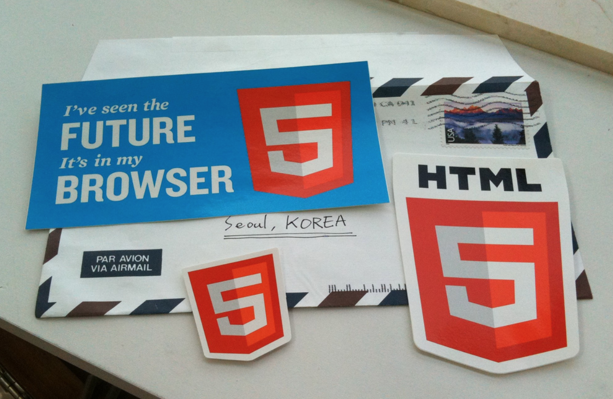 HTML 5 Stickers