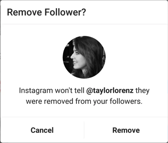 delete followers on instagram app