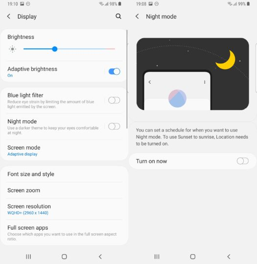 Here's How You Can Enable The Night Mode On Samsung One UI