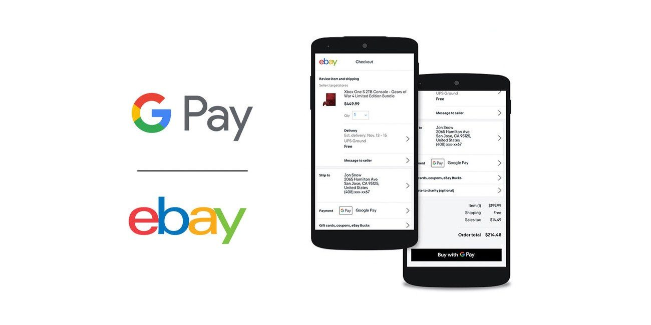 eBay Now Supports Google Pay On Android And Web - TheAppleGoogle