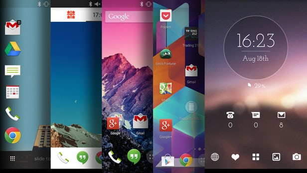 Top 5 Android Launchers - TheAppleGoogle